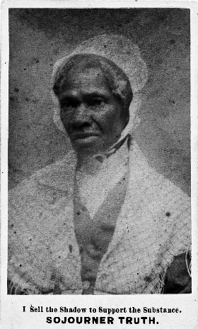 Carte De Visite Of Sojourner Truth Ca 1864